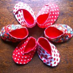 #Kimono Baby Shoes