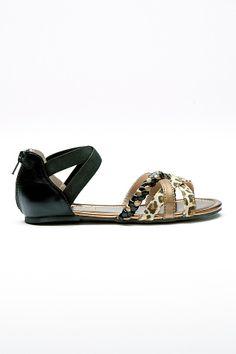 Ellos Shoes Remsandal med djurmönster Sandals, Shoes, Fashion, Moda, Shoes Sandals, Zapatos, Shoes Outlet, Fashion Styles, Shoe