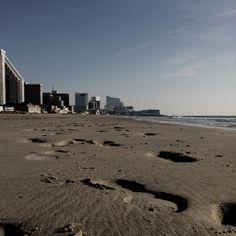 Atlantic city beach.