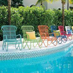 Rizza Outdoor Chair - Grandin Road
