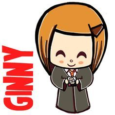How To Draw A Cute Chibi Ginny Weasley From Harry Potter Tutorial