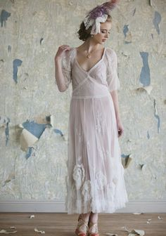 10 Hot Wedding Trends for 2013--#7 The 1920's: Claire by Shop Ruche (www.3d-memoirs.com) #1920's #weddings
