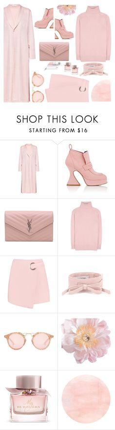 """""""Killing me softly"""" by sunnydays4everkh ❤ liked on Polyvore featuring Lake, Sies Marjan, Yves Saint Laurent, Tomas Maier, Valentino, Krewe and Burberry"""