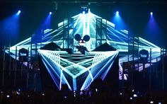 Image result for deadmau5 on stage