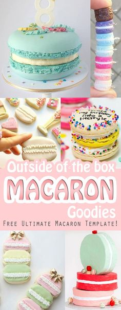 Printable Macaron Templates  Free Word Pdf Format Download