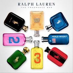 The new Ralph Lauren Fragrance Bar features a library of scents perfect for the season. Best Fragrance For Men, Best Fragrances, Polo Sport Ralph Lauren, Advertising Campaign, Cologne, Flask, My Style, Vanity Ideas, Hats