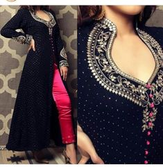 Excited to share the latest addition to my shop: Navy blue Colore Designer suit with wedding wear long dress party wear dress Pakistani style dress Source by dresses pakistani Anarkali Dress, Pakistani Dresses, Indian Dresses, Patiala, Salwar Kameez, Churidar Suits, A Line Kurti, Designer Salwar Suits, Party Wear Dresses