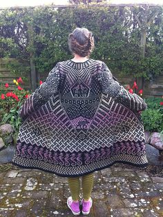 helledusseda's Fly with me, Kauni Wool 8/2 Effektgarn, color ET