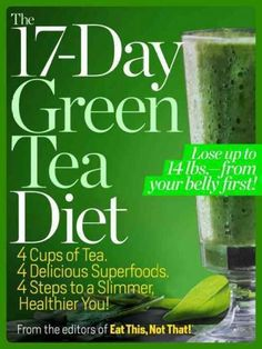 The 17-Day Tea Diet: 4 Cups of Tea, 4 Delicious Superfoods, 4 Steps to a Slimmer, Healthier You!