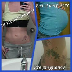 My results. Pregnancy then 15 months post partum