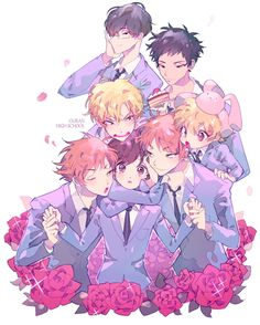 Ouran High School Host Club OHSHC #anime