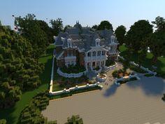Renaissance Manor – Minecraft Building Inc Minecraft House Plans, Minecraft City, Minecraft Creations, Minecraft Designs, Minecraft Buildings, Renaissance, Minecraft Welten, Minecraft Pictures, Community Activities