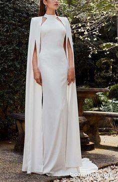 Vestidos de novia Leah Da Gloria 2019 - World of Bridal Dream Wedding Dresses, Bridal Dresses, Wedding Gowns, Prom Dresses, Wedding Dresses With Cape, Lace Wedding, Elegant Dresses, Beautiful Dresses, Dress Dior