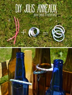 DIY Jeu des Anneaux / DIY cute Ring Toss game