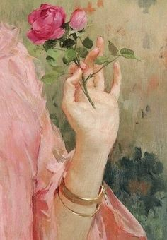 Art — from a portrait of Marie-Joséphine-Louise. Renaissance Kunst, Renaissance Paintings, Aesthetic Painting, Aesthetic Art, Art Hoe, Old Paintings, Classical Art, Old Art, Pretty Art