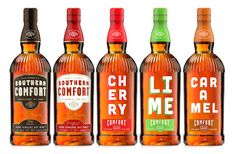 Southern Comfort New Design - Core and Flavour variants