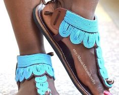 ON SALE GREEK Sandals Leather Sandals African Sandals Women | Etsy Bohemian Sandals, Boho, Beaded Sandals, Greek Sandals, Shoe Game, Moccasins, Leather Sandals, Slippers, Trending Outfits