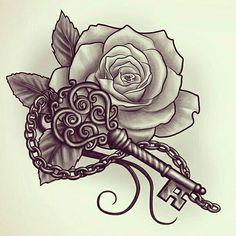 Too Cute My Rose , The Key To My Heart To Mike , Four Butterlies Representing My Four Daughters And Two Dragon Flies For My Two Sons Or My Kids Names