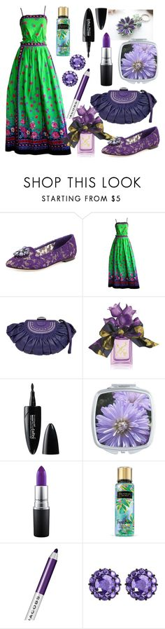 """Embellished Shoes"" by airin-flowers ❤ liked on Polyvore featuring Dolce&Gabbana, Tina Leser, Christian Dior, Vera Wang, Maybelline, MAC Cosmetics, Victoria's Secret, Marc Jacobs, Color My Life and embellishedshoes"