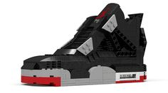 e5049e70fe0226 LEGO Air Jordan 4  Bred