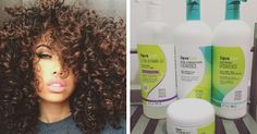 DevaCurl shampoo, conditioner, and styling products restore curls to their healthy, bouncy selves. | 28 Products That'll Make Dry Or Damaged Hair So Much Better