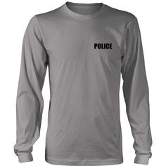 Police Lives Matter Long Sleeve Tee  Product ***Choose Your Color And Size In The Dropdown Menu***   The perfect long sleeve tee   $4.00 Insured Shipping & Handling   100% combed and ring-spun cotton   Sizes: S, M, L, XL, 2XL, 3XL, 4XL, 5XL