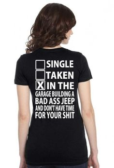 Image for Great Jeep T Shirts Women's