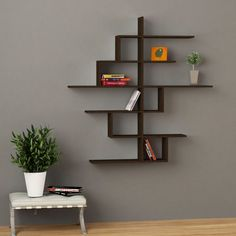 Cizgi No4 Wall Shelf