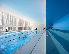 Dominique Coulon et associés, Clément Guillaume · Swimming pool in Bagneux, southern suburbs of Paris · Divisare
