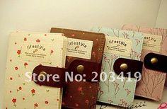 Stationery Diary Book Notepad Notebook Memopad Agenda Travel Planner Journal romantic cloth cover nice CN post