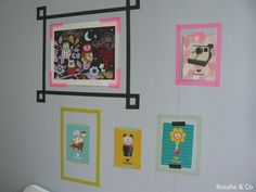 masking tape affiches