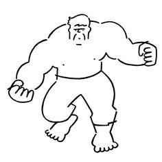 Hulk. #hulk #yunagaba #kaerusensei #長場雄