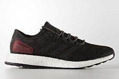 best service ed392 9a84a Adidas PureBOOST New Colorways Adidas Release, Black Adidas Shoes, Black  Shoes, Adidas Sneakers