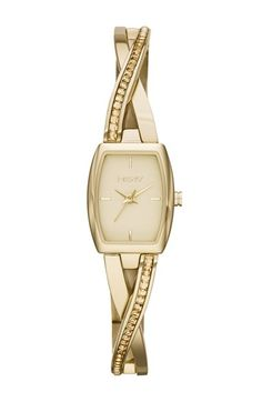 DKNY+'Crosswalk'+Crystal+Accent+Bangle+Watch,+17mm+x+28mm+available+at+#Nordstrom
