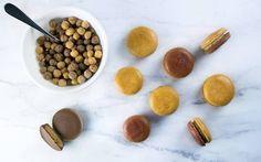 [Homemade] Reese's Puff macarons