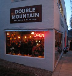 Double Mountain Brewery & Taproom 8 Fourth Street Hood River, OR 97031 Love their wood fired pizza!