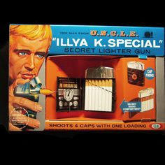 Ideal 1965 Man From UNCLE Illya Kuryakin ILLYA K by CreativePal