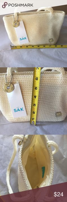 🎄The Sak Classic mini bag! Cream crochet! NWT! The Sak Classic mini bag! Cream crochet! NWT! The Sak Bags Mini Bags