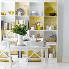 25 fotos e ideas para decorar un mueble con papel pintado.