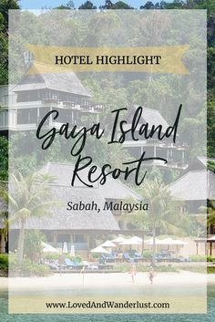 Gaya Island Resort is listed under YTL Hotels which owns and manages a prestigio. Good Friday Holiday, Holiday Resort, Island Resort, Future Travel, Borneo, The Good Place, Highlights, Hotels, Amazing Places