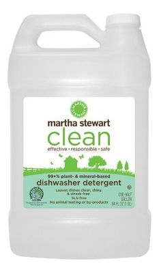Martha Stewart Clean Dishwasher Detergent, 64-Ounce Bottles (Pack of 6) (Health and Beauty) By Martha Stewart          Click for more info     Customer Rating: