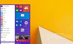 Vaza imagem com suposto novo Menu Iniciar do Windows