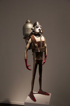 Sculpture by Stephane Halleux   #Steampunk