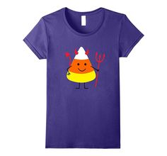 Funny Candy Corn Devil Halloween T-Shirt