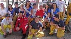 2010 Tecate Light Miss Toyota Grand Prix of Long Beach Winners and Fire Crew