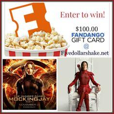 The Hunger Games: Mockingjay Part 2 in theaters 11/20 #FandangoFamily $100 Fandango Gift card #Giveaway #MockingjayPart2
