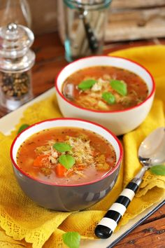 Minestrone leves - Téli kiadás | Street Kitchen Food Styling, Thai Red Curry, Favorite Recipes, Yummy Food, Meals, Baking, Ethnic Recipes, Kitchen, Soups