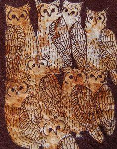 flock of owls detail | Jenny McCabe | Flickr