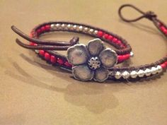 Chan Luu Inspired Bracelet Wrapped Leather