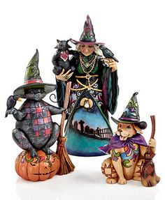 Jim Shore Collectible Figurines, Halloween Collection